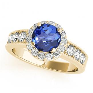 .78ct Round Tanzanite Ring