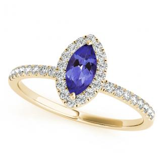 32ct Marquise Tanzanite Ring