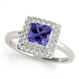 .60ct Princess Tanzanite Ring
