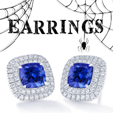 halloween tanzanite jewelry